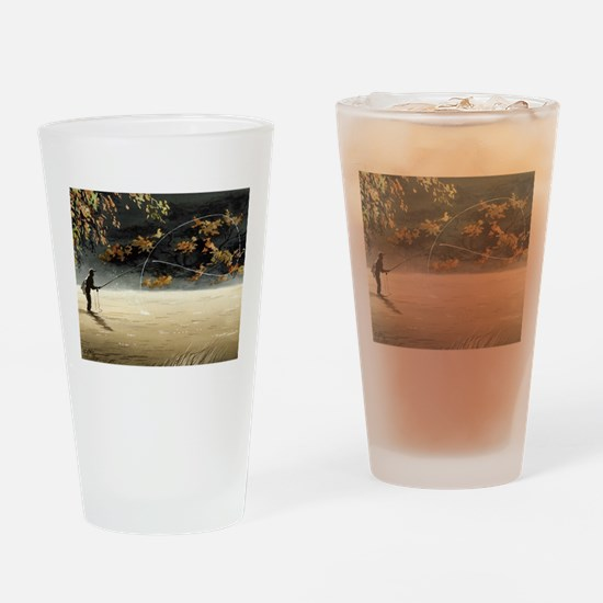 Cute Fly fish Drinking Glass