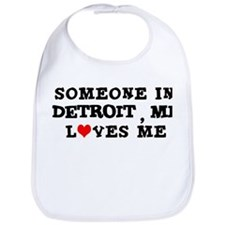 Someone in Detroit Bib