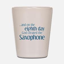 Saxophone Creation Shot Glass