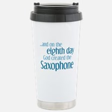 Saxophone Creation Stainless Steel Travel Mug