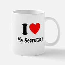 I Love My Secretary: Mug