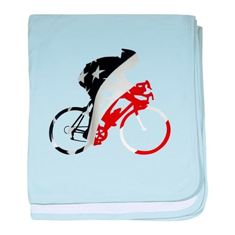 USA Pro Cycling baby blanket