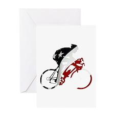 USA Pro Cycling Greeting Card