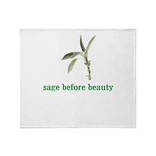 Unique Sage Throw Blanket