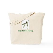 Funny Sage Tote Bag