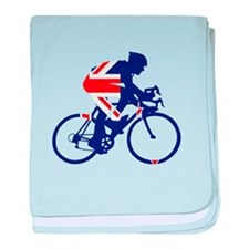 New Zealand Cycling baby blanket