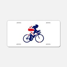 New Zealand Cycling Aluminum License Plate