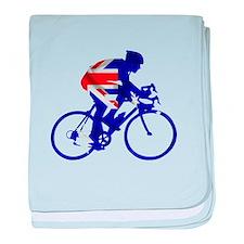 Australian Cycling baby blanket