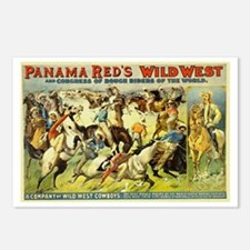 Panama Red's Wild West Cowboys Postcards (Package