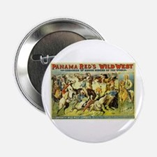 "Panama Red's Wild West Cowboys 2.25"" Button"