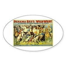 Panama Red's Wild West Cowboys Decal