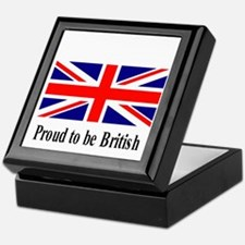 Proud to be British Keepsake Box