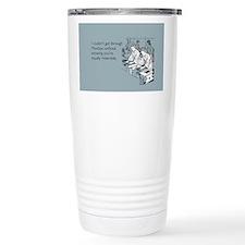 Equally Miserable Mondays Travel Mug