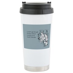 Equally Miserable Mondays Travel Mug