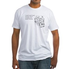 Equally Miserable Mondays Fitted T-Shirt