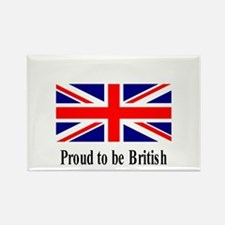 Proud to be British Rectangle Magnet (10 pack)