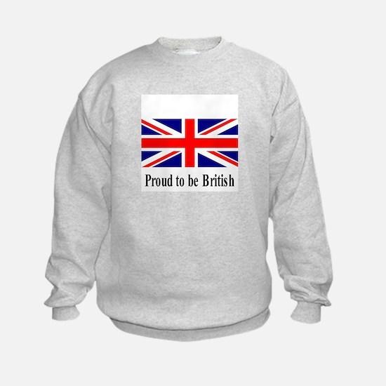 Proud to be British Sweatshirt