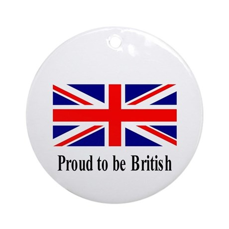 Proud to be British Ornament (Round)