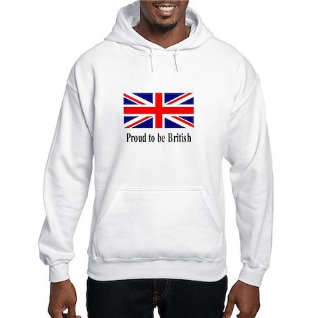Proud to be British Hooded Sweatshirt