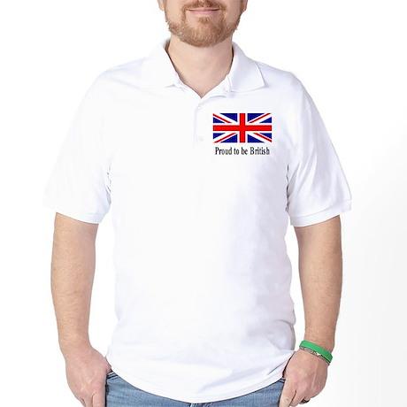 Proud to be British Golf Shirt