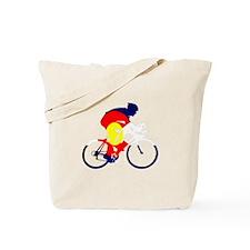 Colorado Cycling Tote Bag