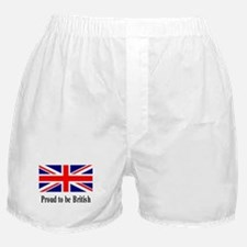 Proud to be British Boxer Shorts