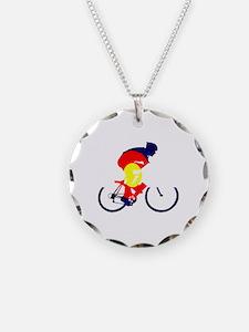 Colorado Cycling Necklace