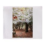 Enchanted Forest Throw Blanket