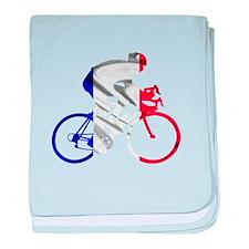 le Tour de France baby blanket