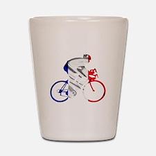 le Tour de France Shot Glass