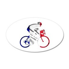 le Tour de France 22x14 Oval Wall Peel