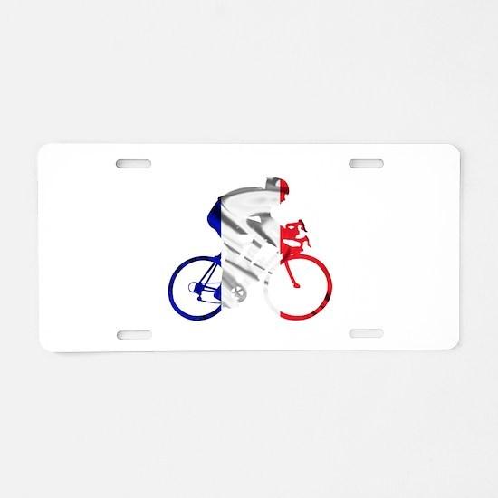 le Tour de France Aluminum License Plate