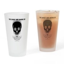 Ghost - Light background Drinking Glass