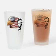 Abraham Lincoln Quote 2 Drinking Glass