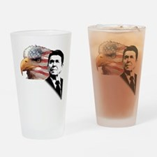 Ronald Reagan Quote 2 Drinking Glass