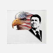 Ronald Reagan Quote 2 Throw Blanket