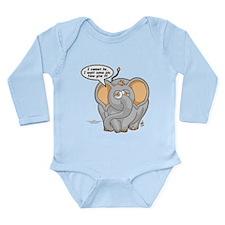 Tubbs - Give Me Pie! Long Sleeve Infant Bodysuit