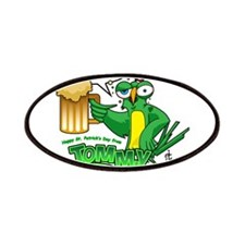 Tommy tames St. Patty's Day! Patches