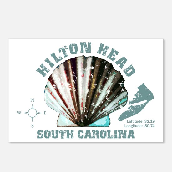 Hilton Head South Carolin Postcards (Package of 8)