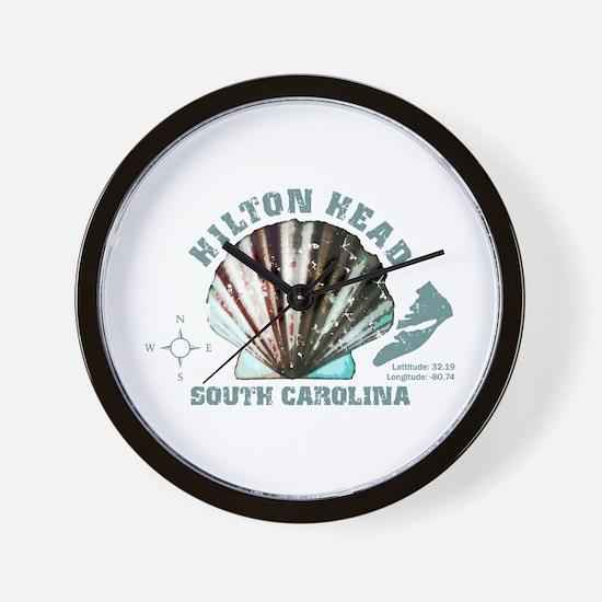 Hilton Head South Carolina Wall Clock