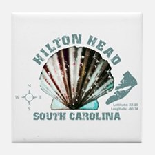 Hilton Head South Carolina Tile Coaster