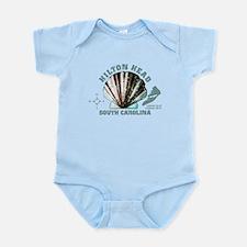 Hilton Head South Carolina Infant Bodysuit