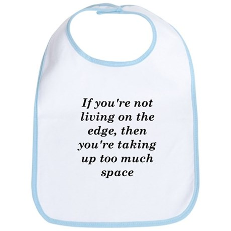 Living on the Edge Bib