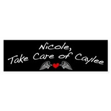 Nicole and Caylee Bumper Sticker