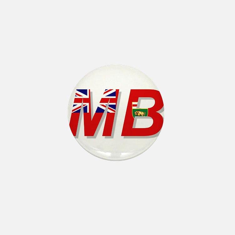 Manitoba MB Mini Button