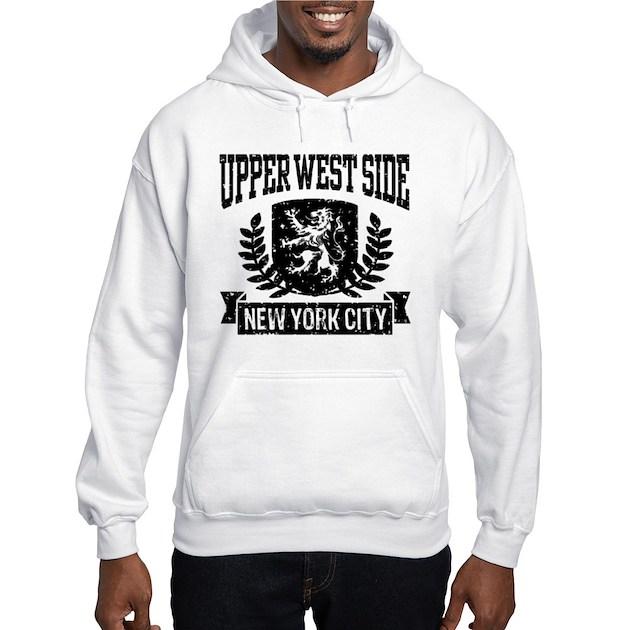 Upper West Side NYC Jumper Hoody by HobnobberTees