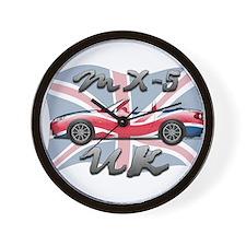 Cool Mx 5 Wall Clock