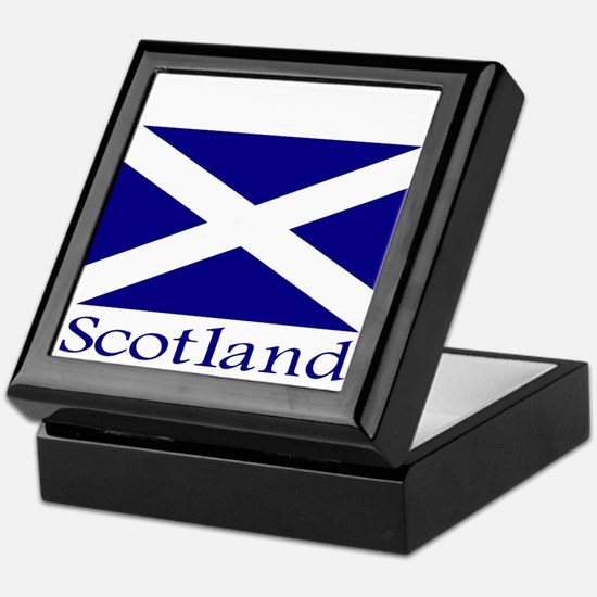 """Scotland"" Keepsake Box"