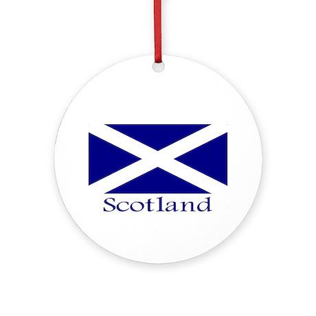 """""""Scotland"""" Ornament (Round)"""