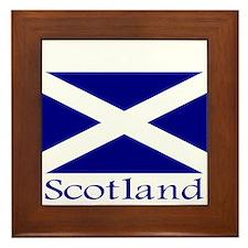 """Scotland"" Framed Tile"